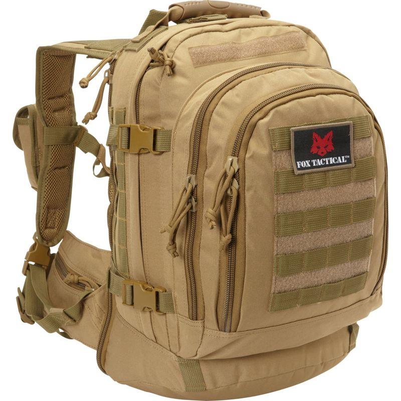 フォックスアウトドア メンズ ボストンバッグ バッグ Tactical Duty Pack Coyote