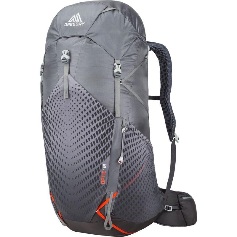 グレゴリー メンズ バックパック・リュックサック バッグ Optic 48 Large Hiking Backpack Lava Grey - Medium