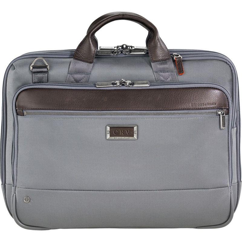 特価ブランド ブリグスアンドライリー Brief Medium メンズ スーツケース バッグ @work @work Medium Brief Grey, オオタマムラ:1ef70de2 --- very2.top
