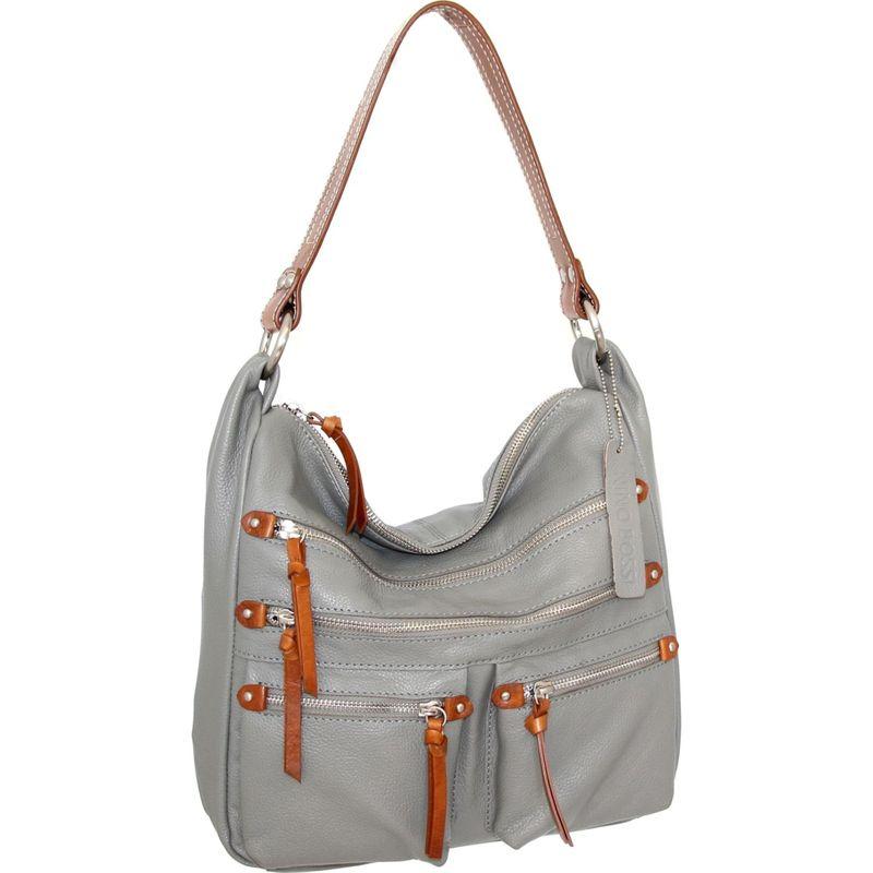 ニノボッシ メンズ ショルダーバッグ バッグ Elisa Shoulder Bag Stone