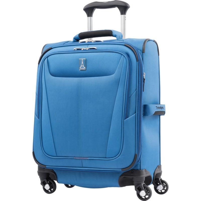 トラベルプロ メンズ スーツケース バッグ Maxlite 5 19 Expandable International Carry-On Spinner Azure Blue
