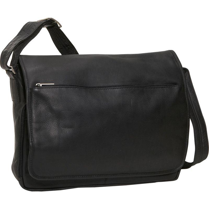 デビッドキング メンズ スーツケース バッグ Laptop Messenger Bag Black