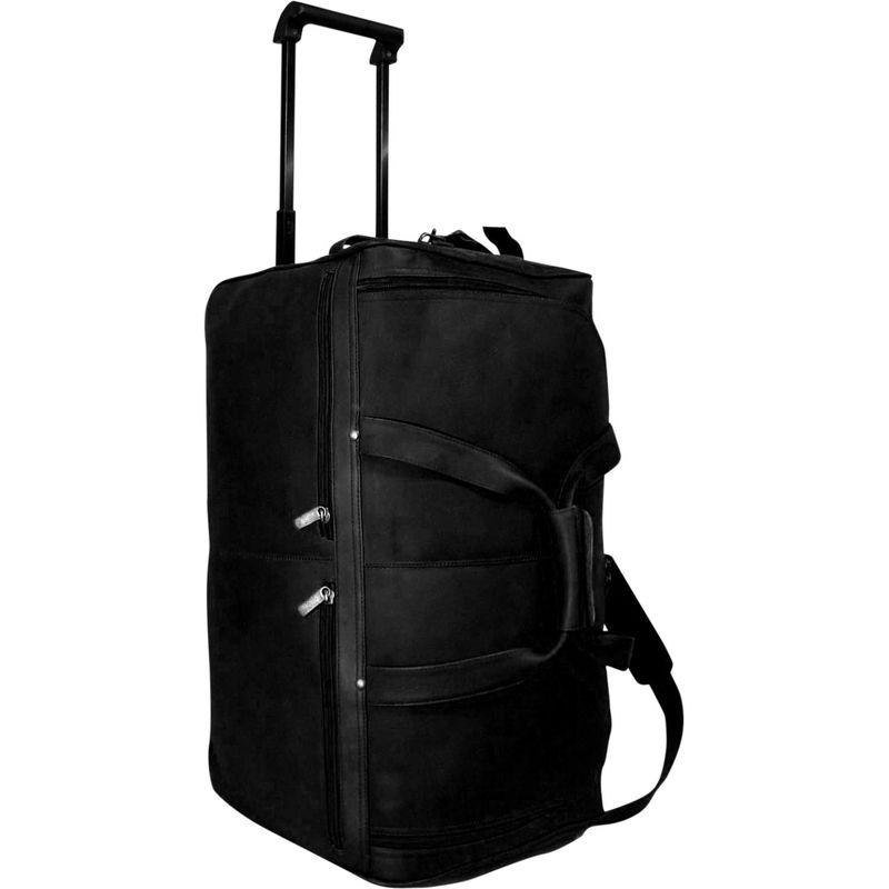 デビッドキング メンズ スーツケース バッグ 22 Rolling Duffel Black