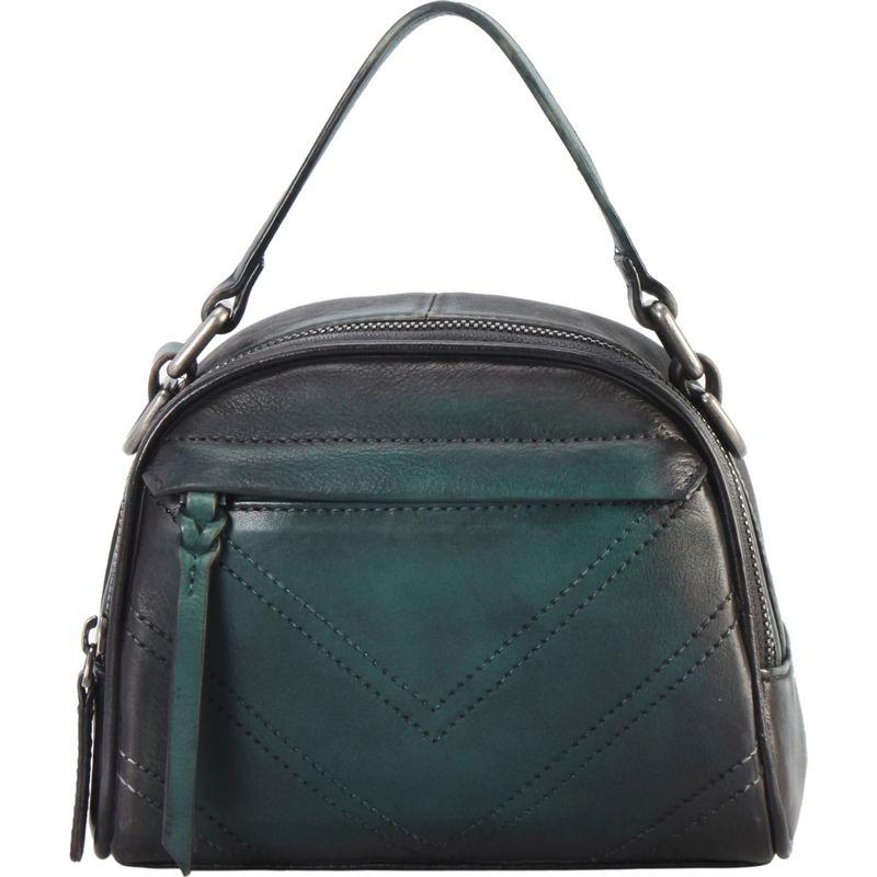 ディオフィ メンズ ハンドバッグ バッグ Half-Moon Doctor Style Shoulder Bag Blue