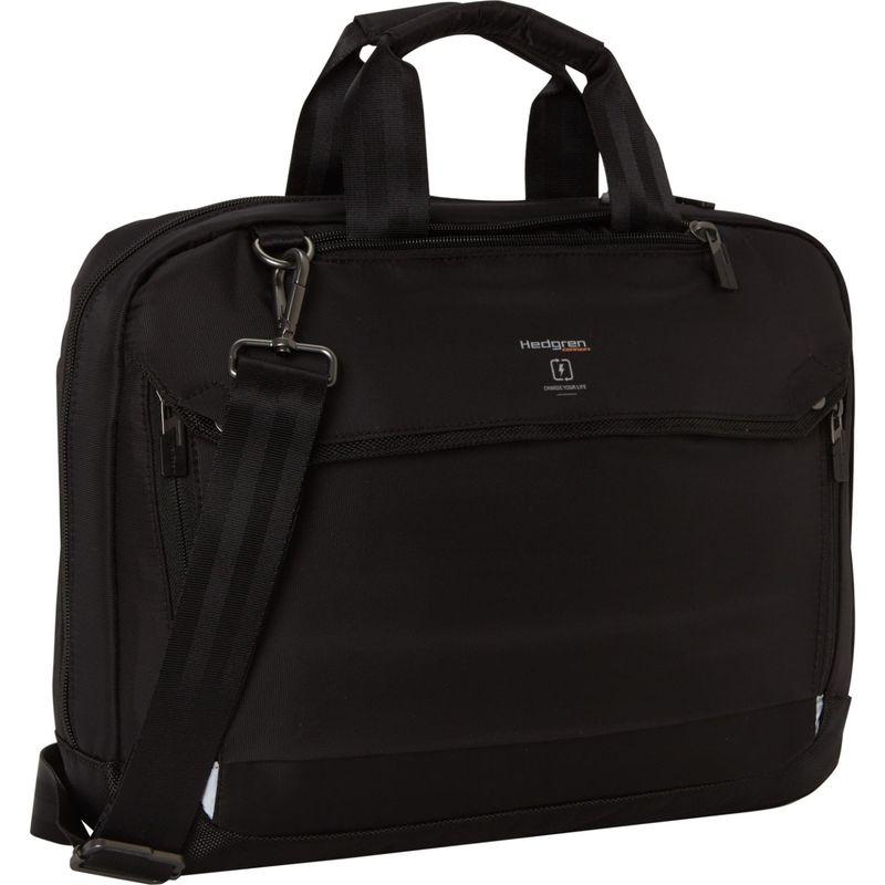 ヘドグレン メンズ スーツケース バッグ Hitch Slim 3 Way Briefcase Black