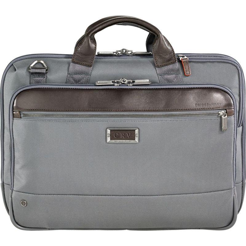 ブリグスアンドライリー メンズ スーツケース バッグ @work Slim Brief Grey