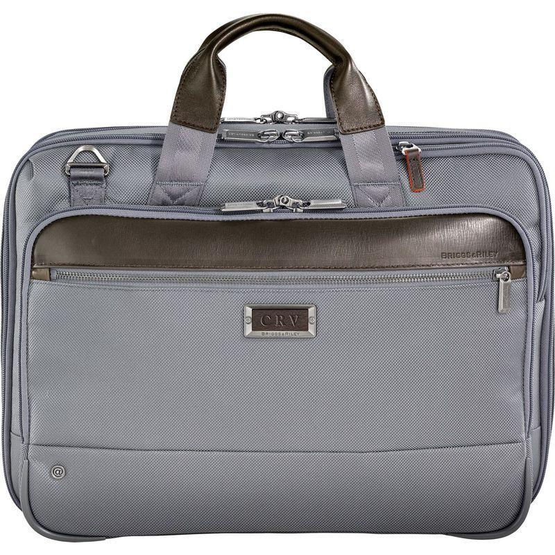 ブリグスアンドライリー メンズ スーツケース バッグ @work Medium Expandable Brief Grey