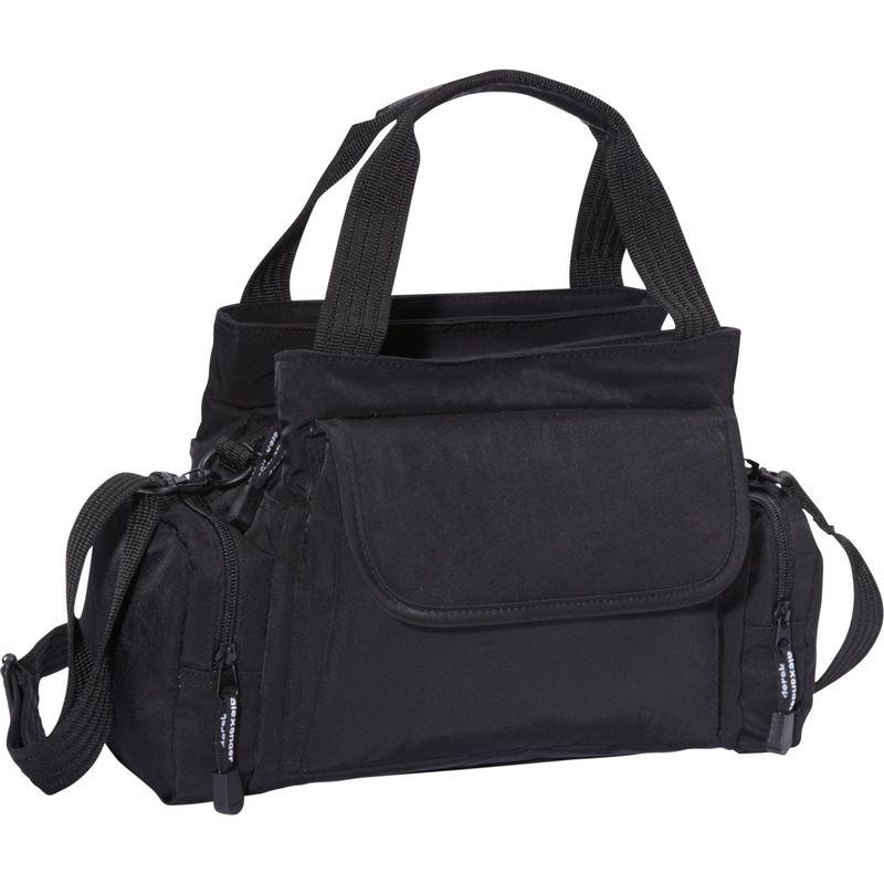 デレクアレクサンダー メンズ ハンドバッグ バッグ EW Top Zip Handbag Mini Duffle Black