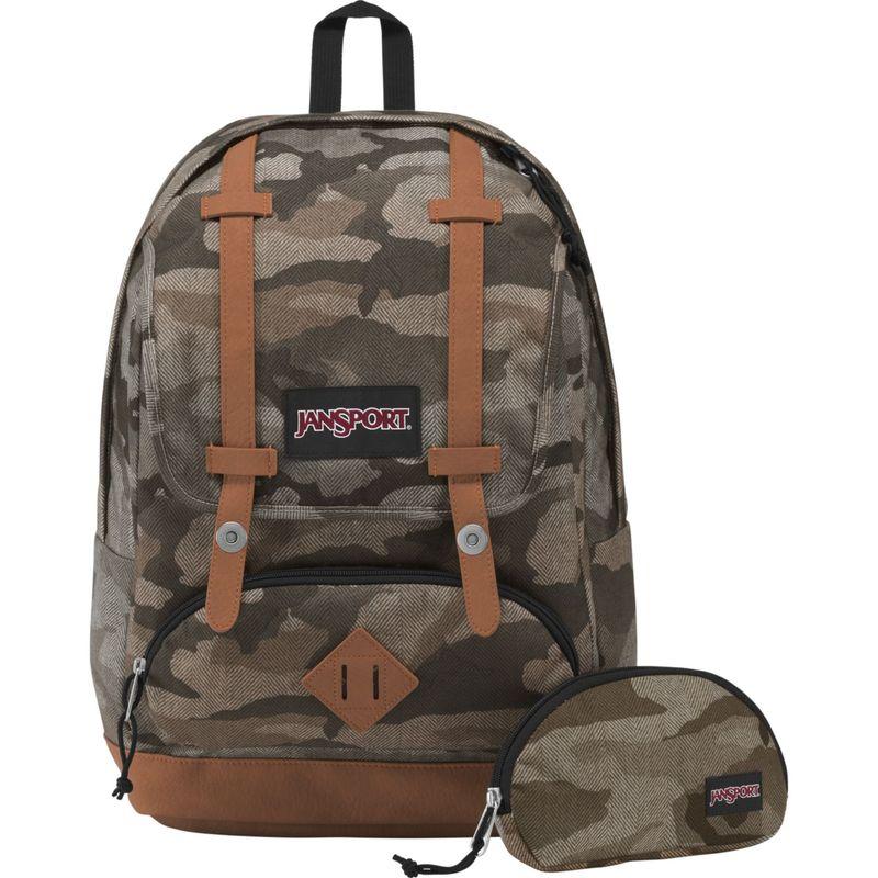 ジャンスポーツ メンズ バックパック・リュックサック バッグ Baughman Laptop Backpack Camo Ombre