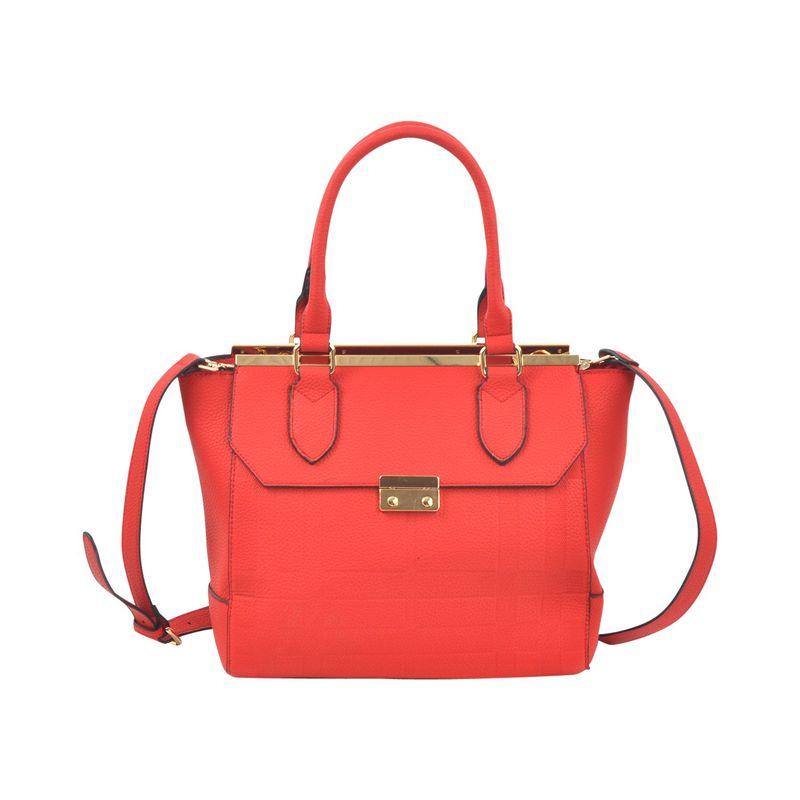 ダセイン メンズ ハンドバッグ バッグ Fashion Satchel Red