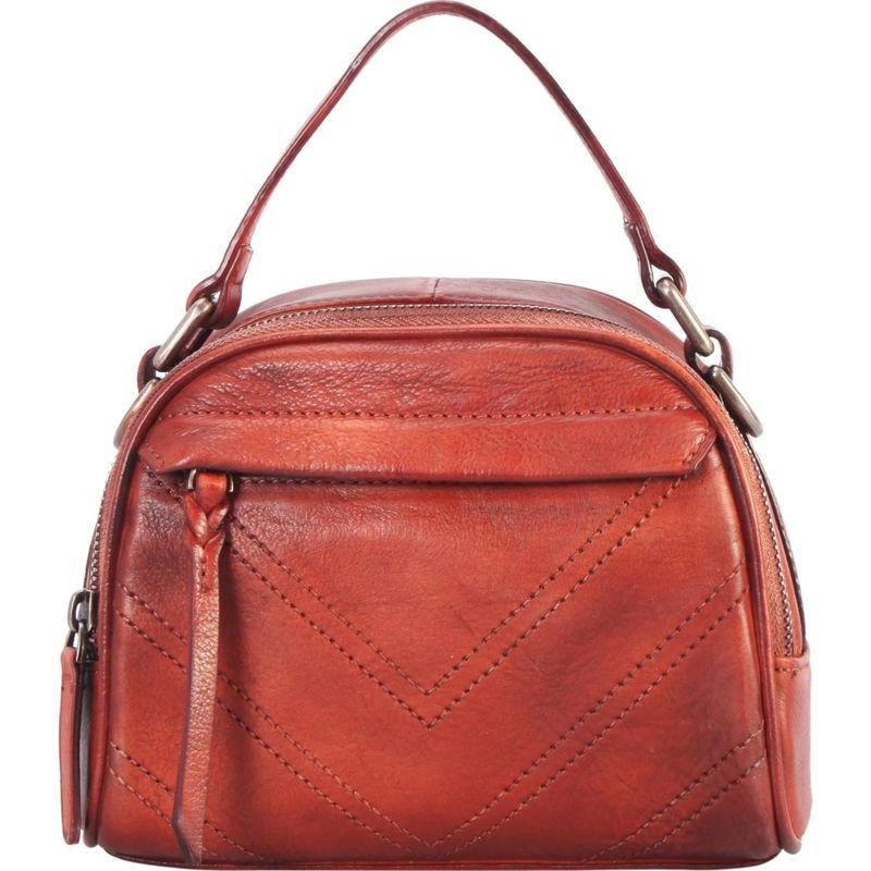 ディオフィ メンズ ハンドバッグ バッグ Half-Moon Doctor Style Shoulder Bag Red
