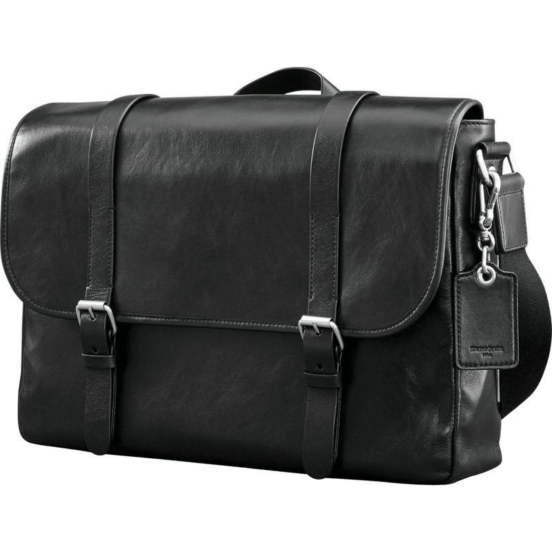 サムソナイト メンズ スーツケース バッグ Mens Leather 1910 Heritage Messenger Black