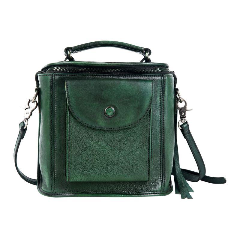 オールドトレンド メンズ ボディバッグ・ウエストポーチ バッグ Isla Crossbody Vintage Green