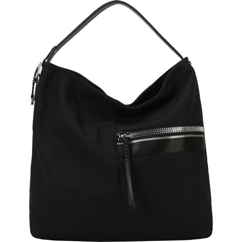 ディオフィ メンズ ハンドバッグ バッグ Front Half Zipper Pocket Hobo Black
