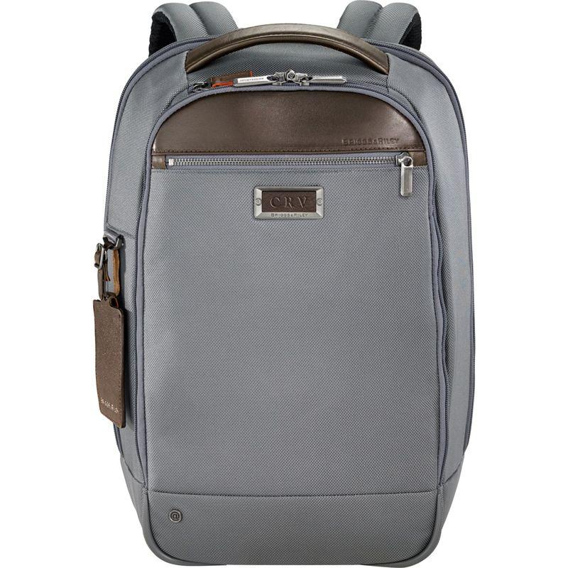 ブリグスアンドライリー メンズ スーツケース バッグ @work Medium Slim Laptop Backpack Grey