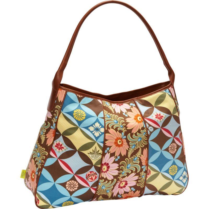 エミーバトラー メンズ ハンドバッグ バッグ Opal Fashion Bag Chocolate Fern Flower