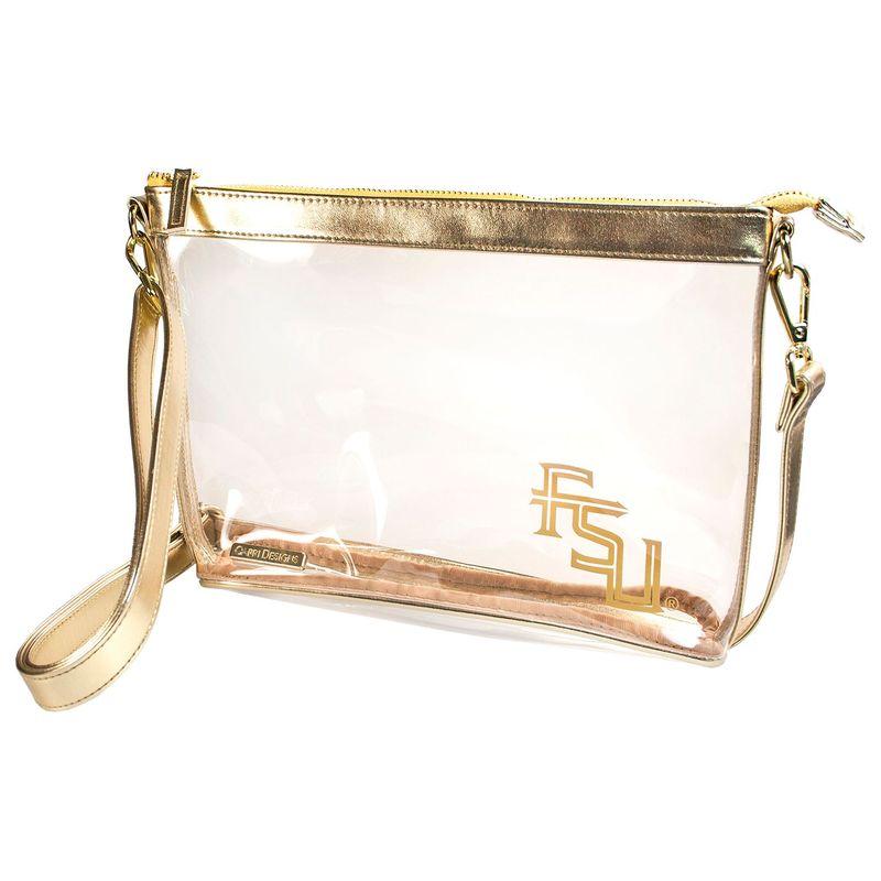 カプリデザイン メンズ ボディバッグ・ウエストポーチ バッグ Large NCAA Crossbody - Licensed FSU - Gold