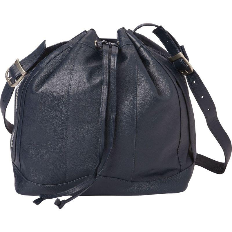 ピエール メンズ ハンドバッグ バッグ Leather Drawstring Bag Navy
