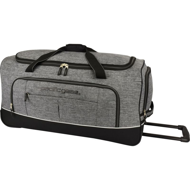 トラベラーズチョイス メンズ スーツケース バッグ Pacific Gear Keystone 30 Rolling Duffel Bag Gray