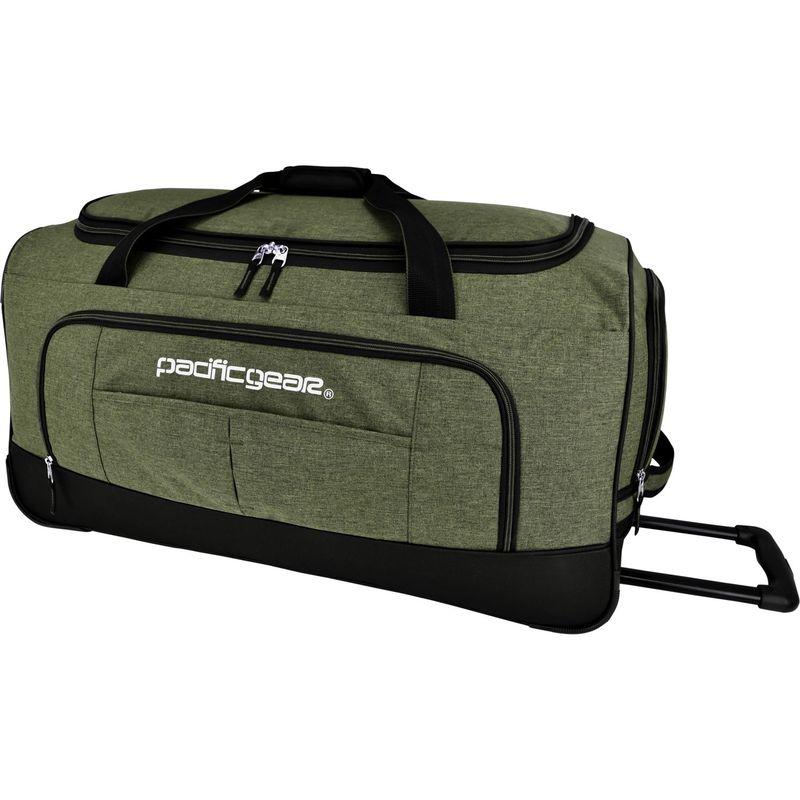 トラベラーズチョイス メンズ スーツケース バッグ Pacific Gear Keystone 30 Rolling Duffel Bag Olive