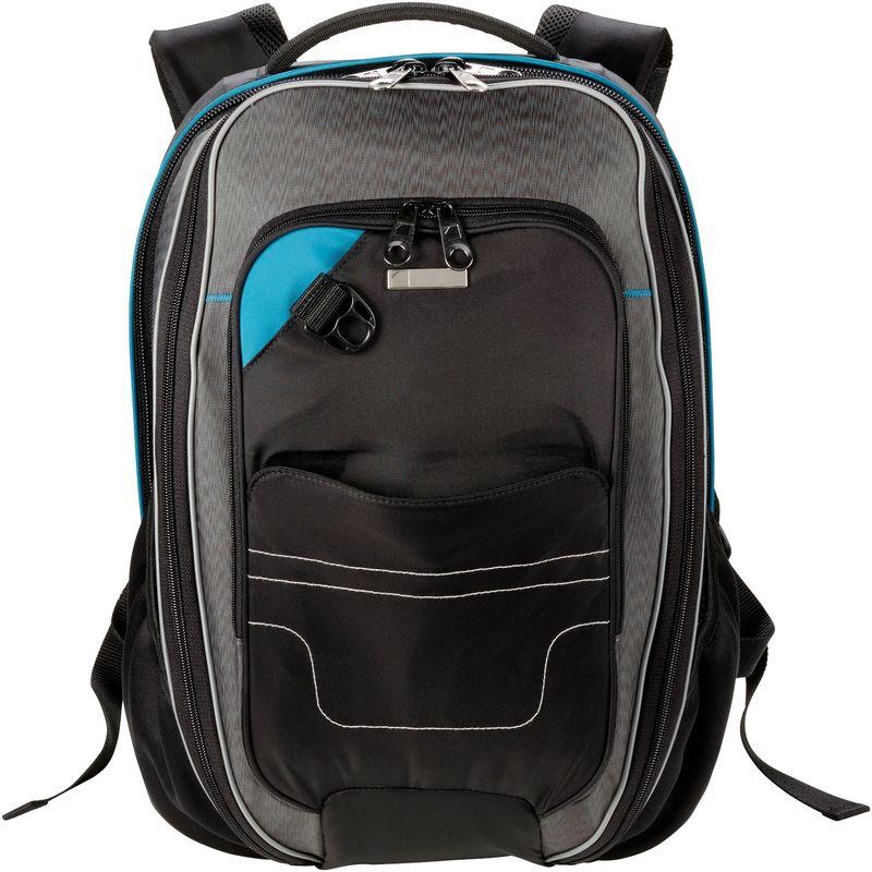 ルイスエヌクラーク メンズ スーツケース バッグ ONboard Underseat Backpack Black/Gray