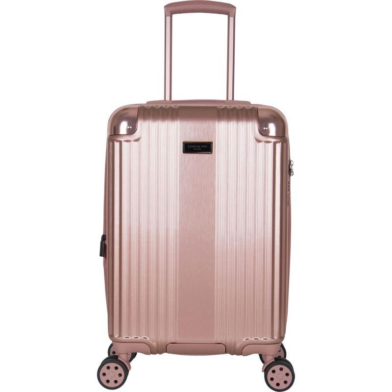 ケネスコール メンズ スーツケース バッグ Tribeca Travelier 20 Lightweight Expandable Carry-On Spinner with TSA Lock Metalic Rose Gold