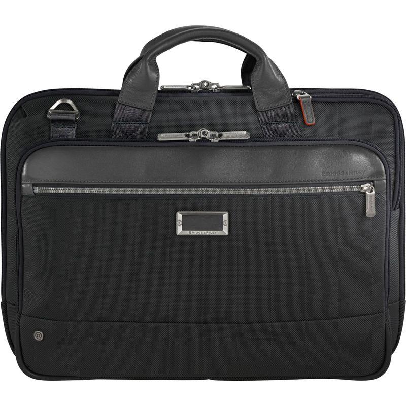 ブリグスアンドライリー メンズ スーツケース バッグ @work Slim Brief Black