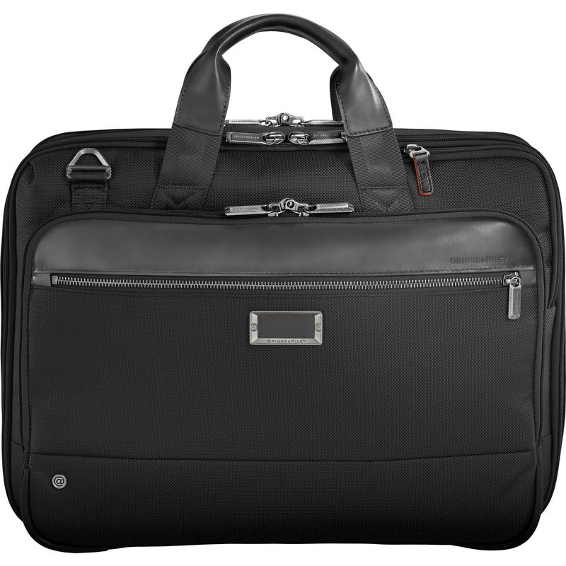 ブリグスアンドライリー メンズ メンズ スーツケース Brief バッグ @work @work Medium Expandable Brief Black, 涌谷町:a32b4710 --- koreandrama.store
