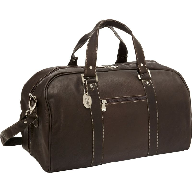 デビッドキング メンズ スーツケース バッグ Deluxe A Frame 18 Duffel Cafe