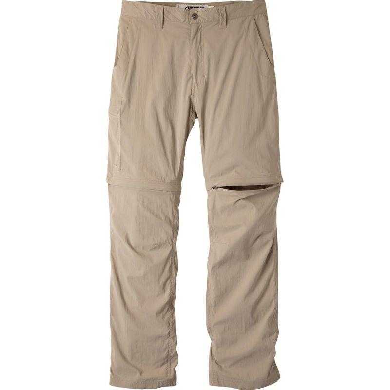 マウンテンカーキス メンズ カジュアルパンツ ボトムス Equatorial Stretch Convertible Pant Relaxed Fit Classic Khaki