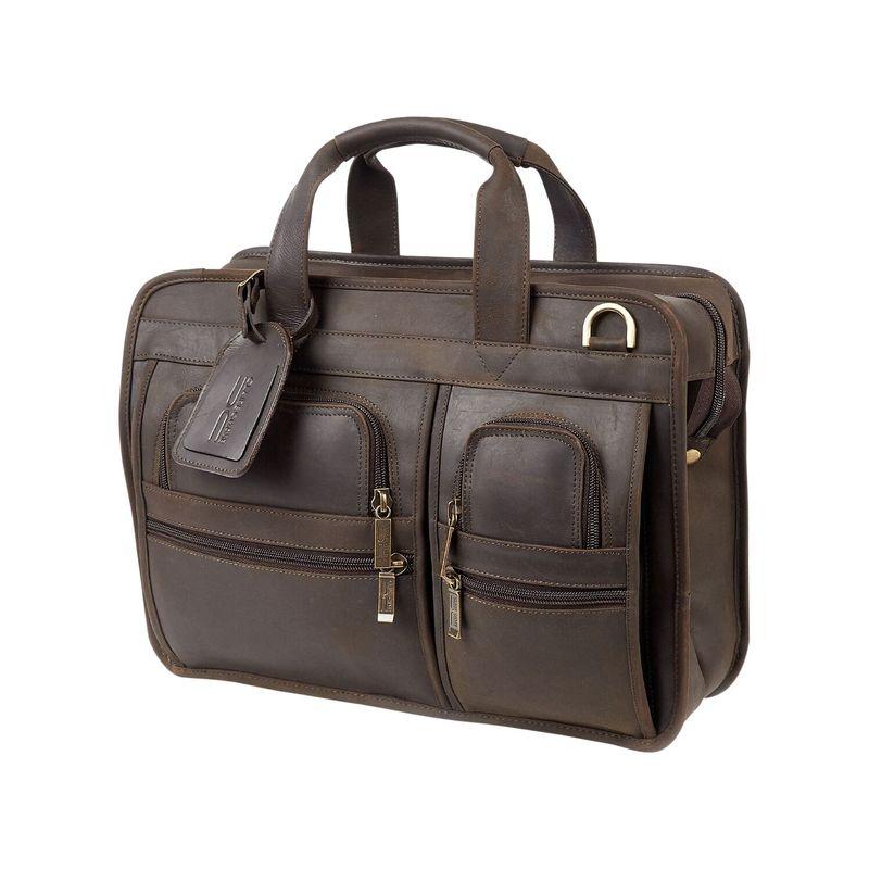 クレアーチャイス メンズ スーツケース バッグ Slimline Executive Briefcase Espresso