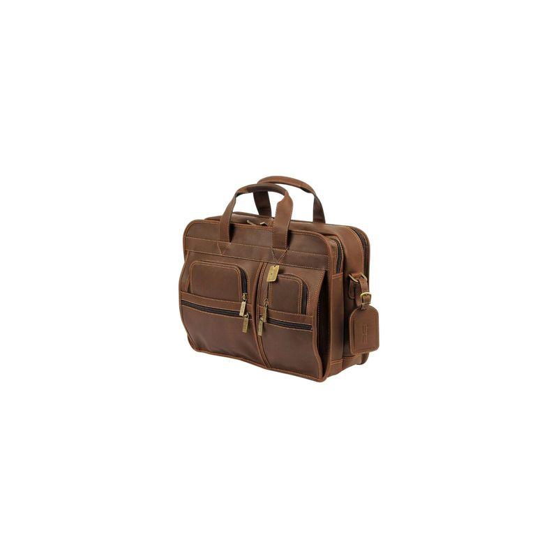 クレアーチャイス メンズ スーツケース バッグ Executive Briefcase Rustic Brown