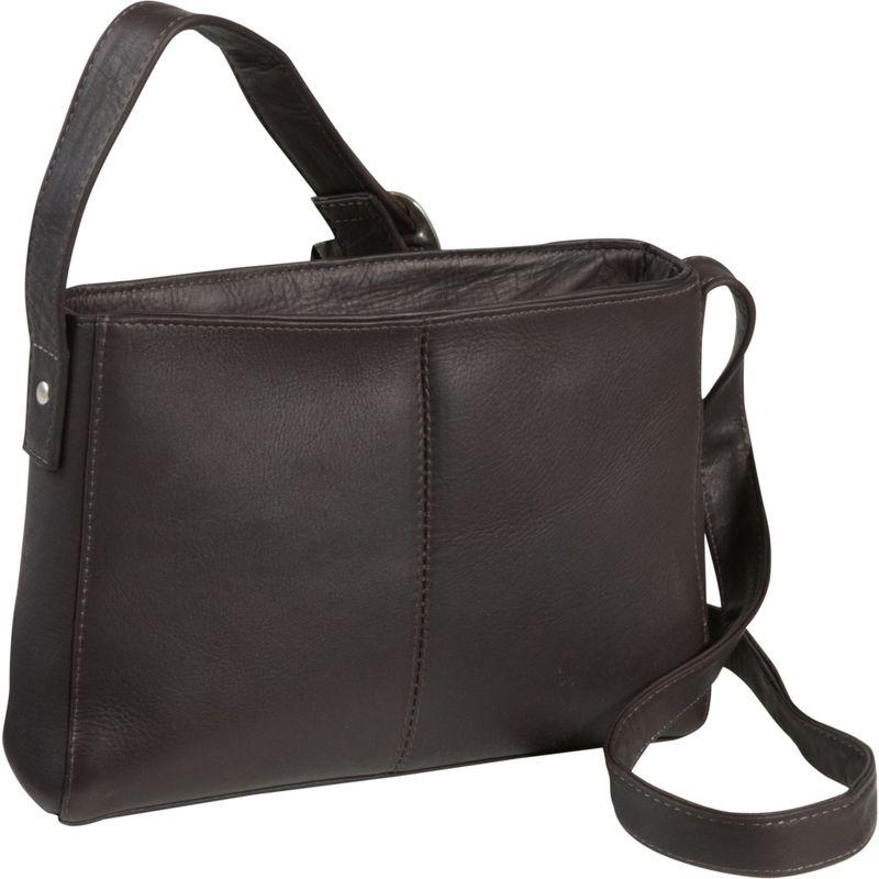 ルドネレザー メンズ ボディバッグ・ウエストポーチ バッグ Top Zip Crossbody Bag Cafe