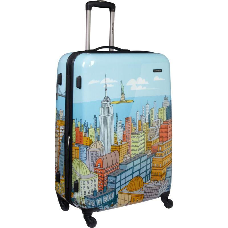 サムソナイト メンズ スーツケース バッグ CityScapes Spinner 28 Blue Print