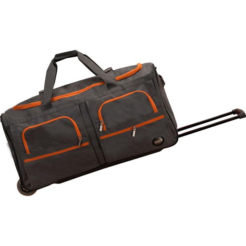 ロックランド メンズ スーツケース バッグ Voyage 2 30 Rolling Duffel Charcoal