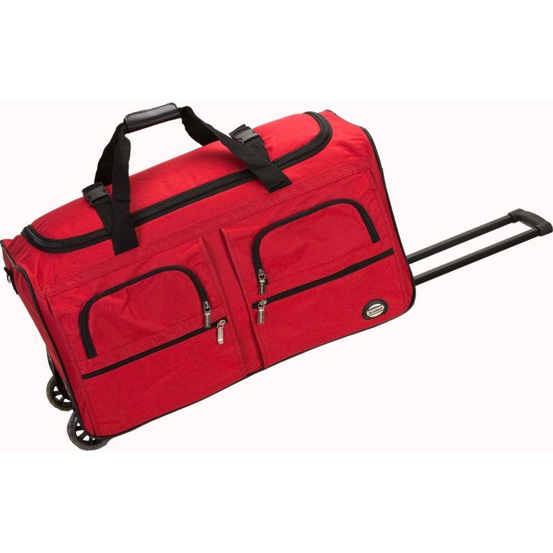 ロックランド メンズ スーツケース バッグ Voyage 3 36 Rolling Duffel Red