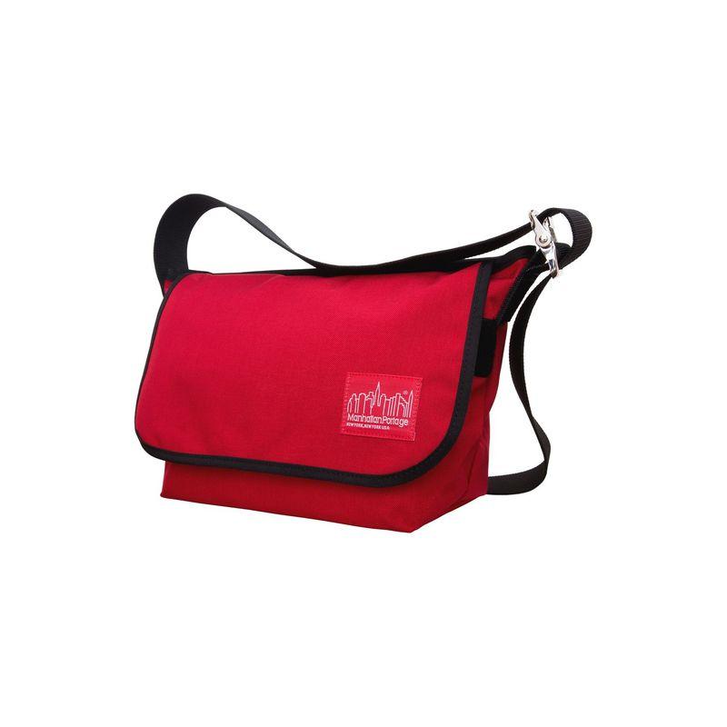マンハッタンポーテージ メンズ ショルダーバッグ バッグ Vintage Messenger Bag JR. (M) Red