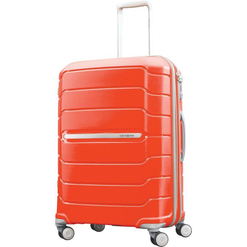 サムソナイト メンズ スーツケース バッグ Freeform 24 Hardside Spinner Tangerine