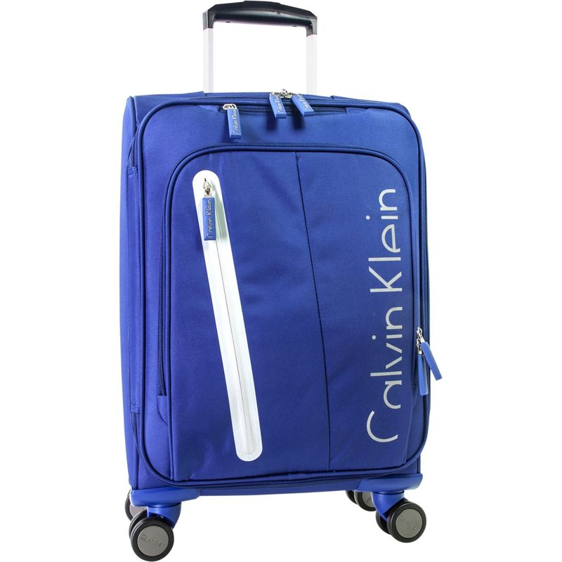 カルバンクライン メンズ スーツケース バッグ Gramercy 4.0 21 Expandable Spinner Carry-On Blue