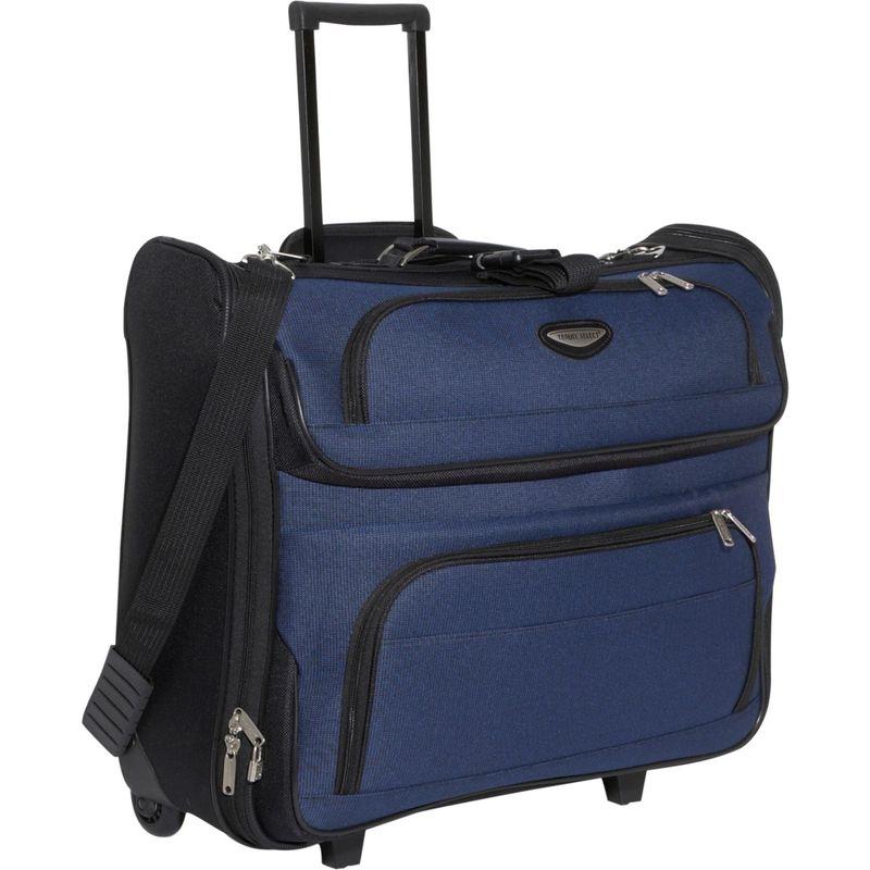 トラベラーズチョイス メンズ スーツケース バッグ Amsterdam Rolling Garment Bag Navy