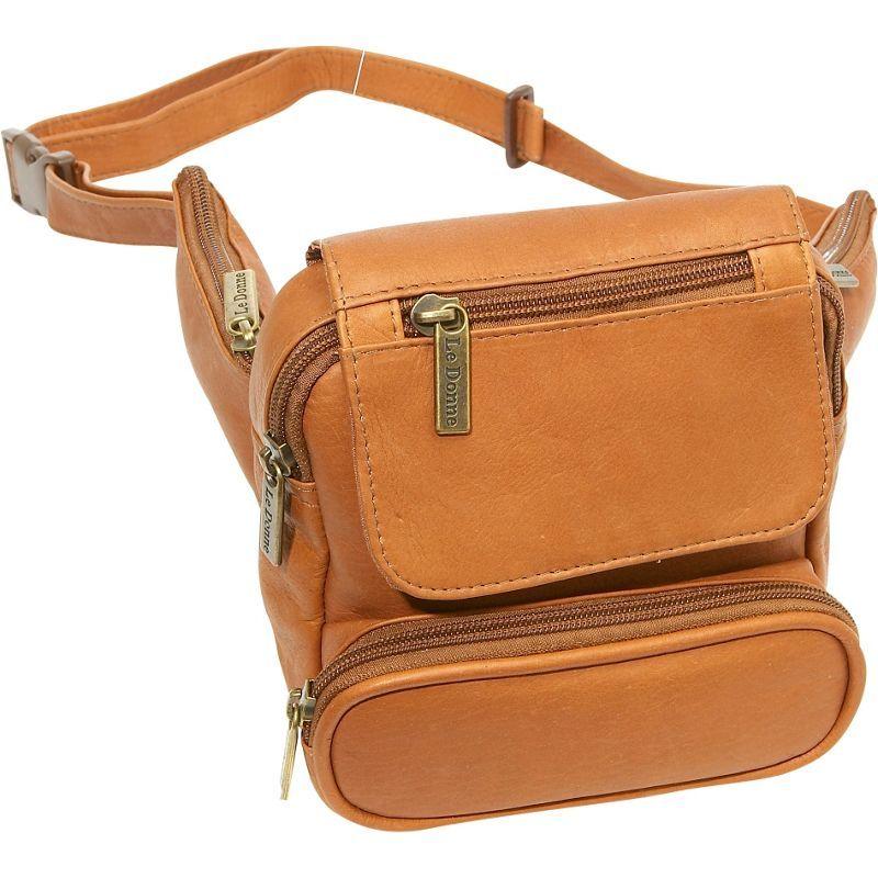 ルドネレザー メンズ ボディバッグ・ウエストポーチ バッグ Traveler Waist Bag Tan
