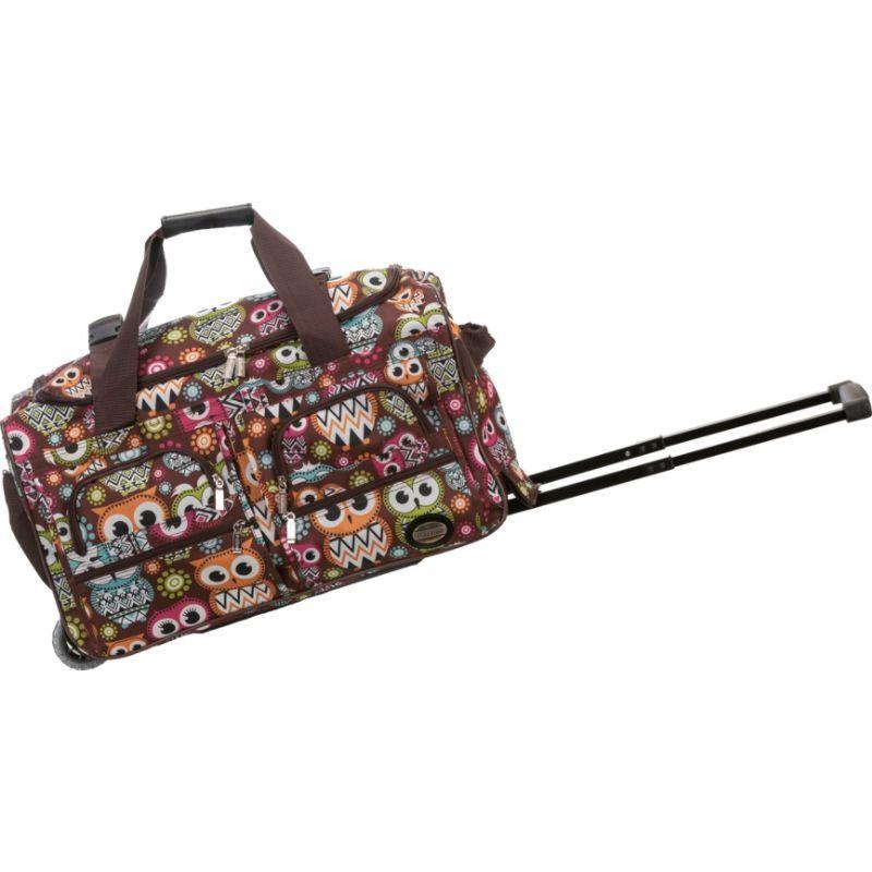 ロックランド メンズ スーツケース バッグ 22 Rolling Duffle Bag OWL