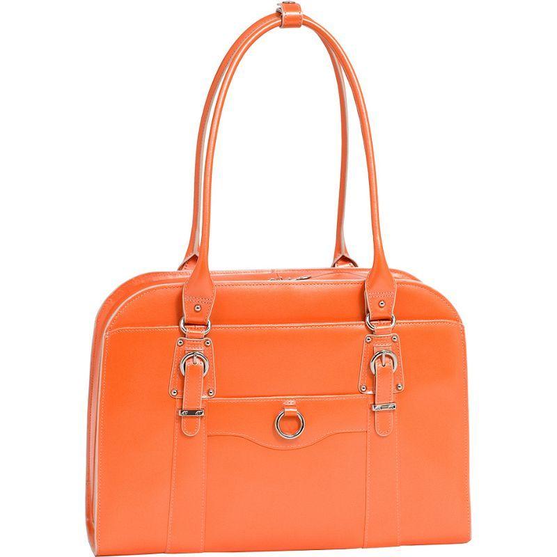 マックレイン メンズ スーツケース バッグ W Series Hillside Laptop Tote Orange