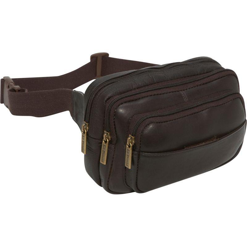 ルドネレザー メンズ ボディバッグ・ウエストポーチ バッグ Four Compartment Waist Bag Cafe