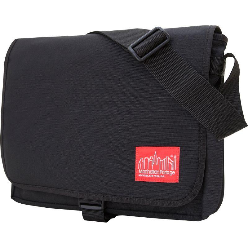 マンハッタンポーテージ メンズ スーツケース バッグ Deluxe Computer Bag (13) Black