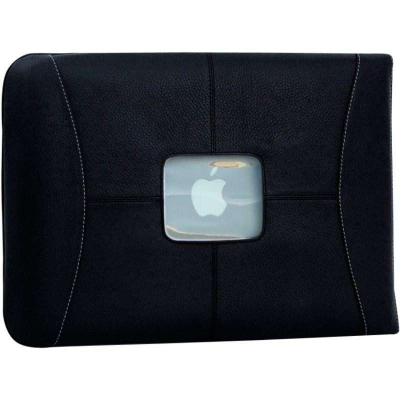 マックケース メンズ スーツケース バッグ Premium Leather 11 MacBook Air Sleeve Black