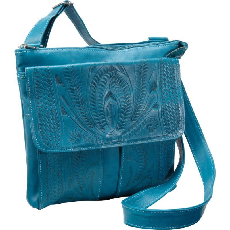 ロピンウェスト メンズ ボディバッグ・ウエストポーチ バッグ Cross Over Bag Turquoise
