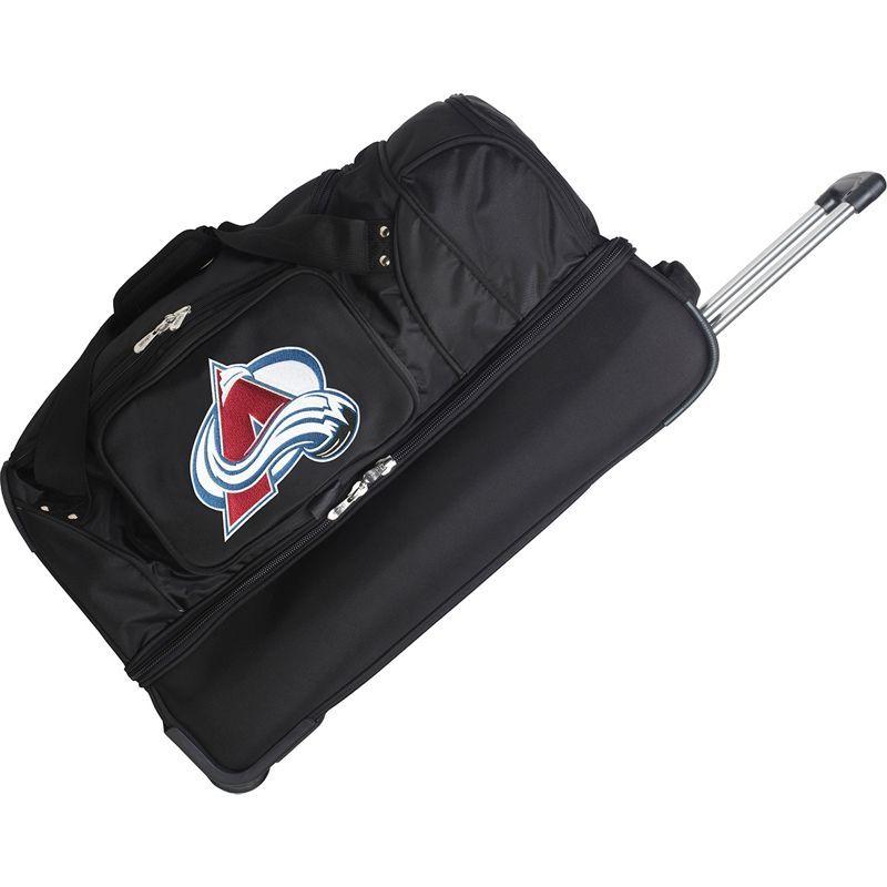 デンコスポーツ メンズ スーツケース バッグ NHL 27 Drop Bottom Wheeled Duffel Bag Colorado Avalanche