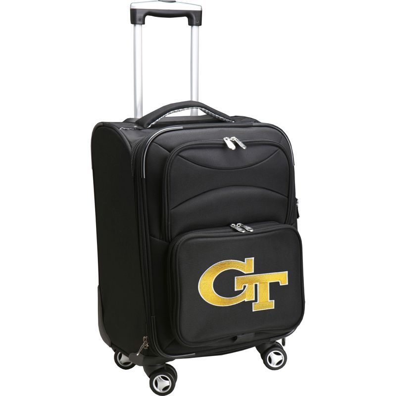 デンコスポーツ メンズ スーツケース バッグ NCAA 20 Domestic Carry-On Spinner Georgia Institute of Technology Yellow Jackets