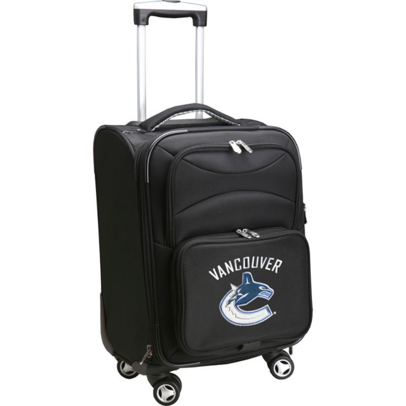 デンコスポーツ メンズ スーツケース バッグ NHL 20 Domestic Carry-On Spinner Vancouver Canucks
